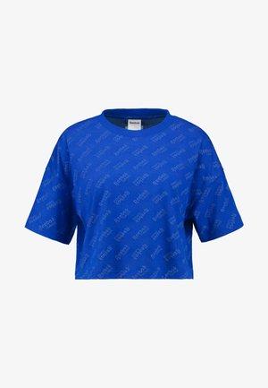 TEE PRINT - T-shirt z nadrukiem - cobalt