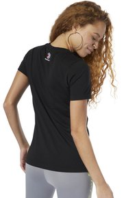 Reebok Classic - CLASSICS REEBOK TEE - T-shirt con stampa - black - 1