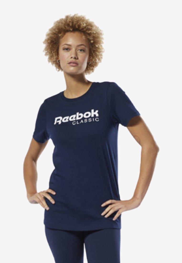Reebok Classic - CLASSICS REEBOK TEE - T-Shirt print - blue