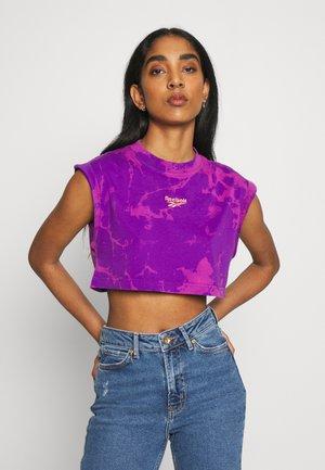Top - regal purple