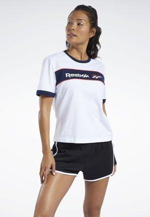 CLASSICS LINEAR TEE - T-shirt print - white