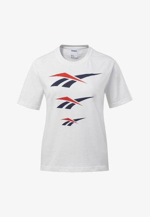 CLASSICS VECTOR TEE - T-shirt imprimé - white