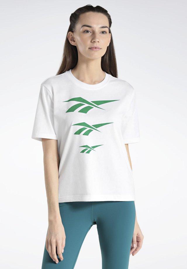 CLASSICS VECTOR TEE - Print T-shirt - white