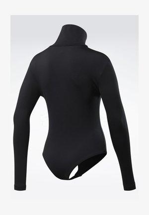 CLASSICS SMALL VECTOR BODYSUIT - Bluzka z długim rękawem - black