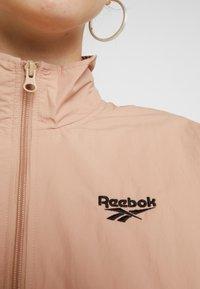 Reebok Classic - GIGI TRACK JACKET - Short coat - field tan - 5