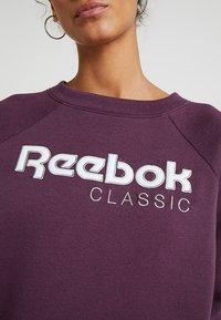 Reebok Classic - ICONIC CREW - Bluza - urban violet - 5