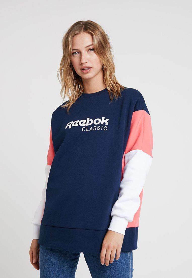 Reebok Classic - CREW - Langærmede T-shirts - collegiate navy
