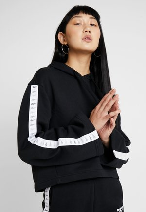 VECTOR GRAPHIC PULLOVER - Hoodie - black