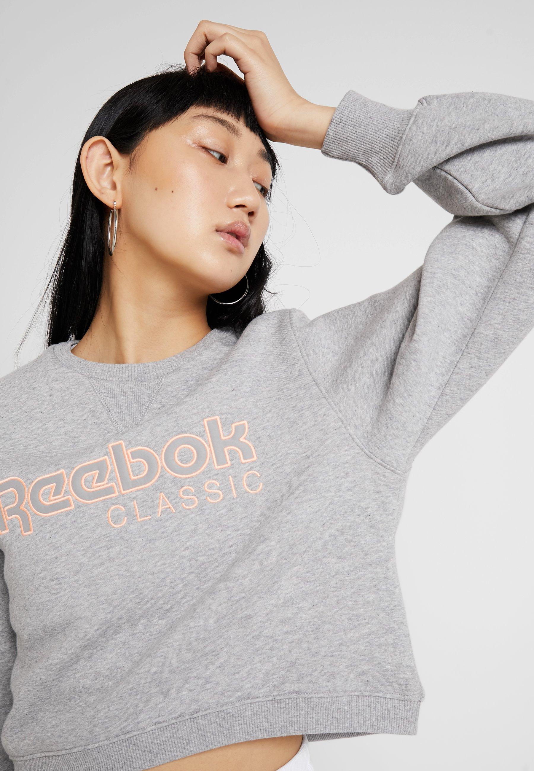 Reebok ELEMENTS Fleecetakki medium grey heather Zalando.fi