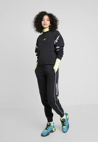 Reebok Classic - GRAPHIC SERIES CASUAL LONG SLEEVE PULLOVER - Bluza - black - 1