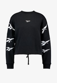 Reebok Classic - GRAPHIC SERIES CASUAL LONG SLEEVE PULLOVER - Bluza - black - 3