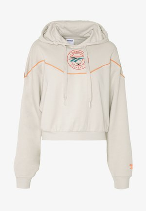 HOODIE TRAIL - Jersey con capucha - stucco