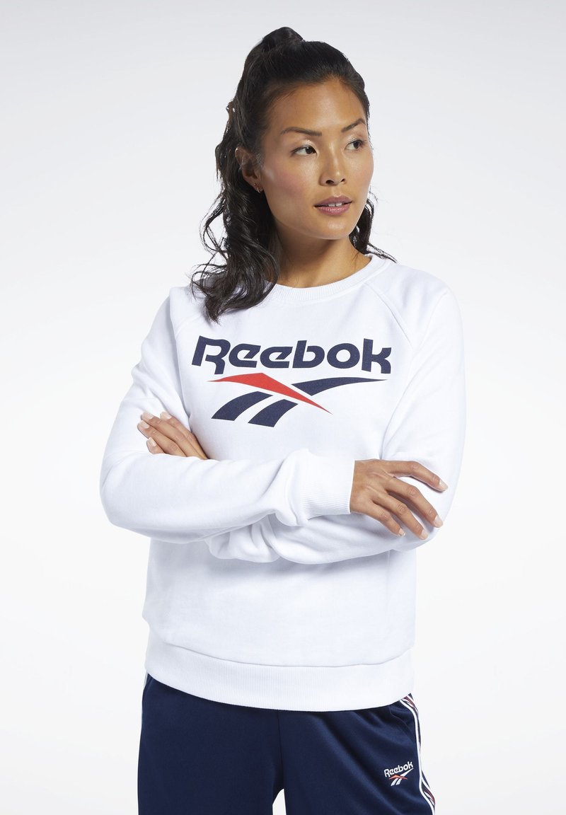 Reebok Classic - CLASSICS VECTOR CREW SWEATSHIRT - Bluza - white