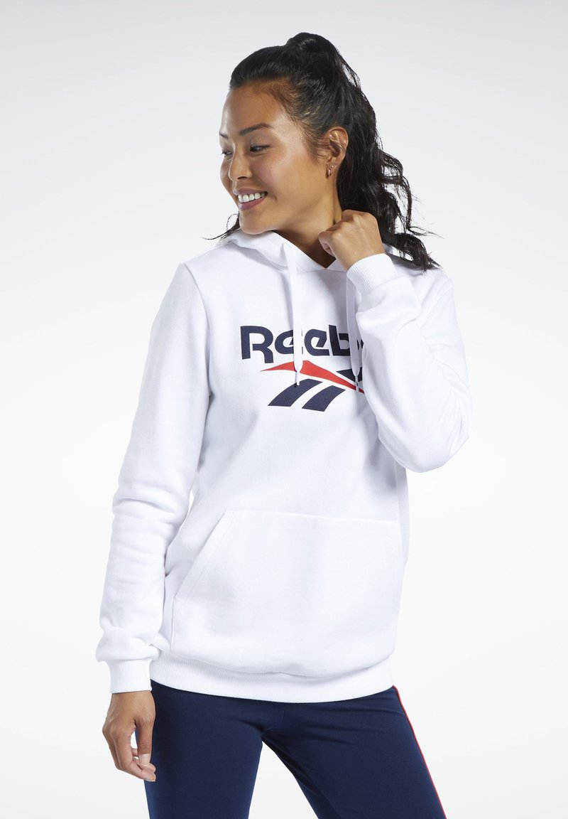 Reebok Classic - Bluza z kapturem - white
