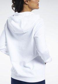 Reebok Classic - Bluza z kapturem - white - 3