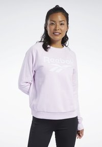 Reebok Classic - CLASSICS VECTOR CREW SWEATSHIRT - Sweatshirt - pixel pink - 0