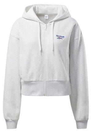 CLASSICS VECTOR HOODIE - Zip-up hoodie - white