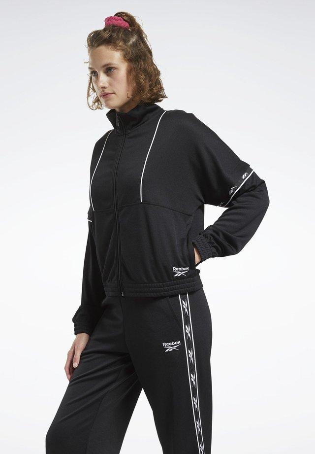 CLASSICS VECTOR TAPE TRACK TOP - Training jacket - black