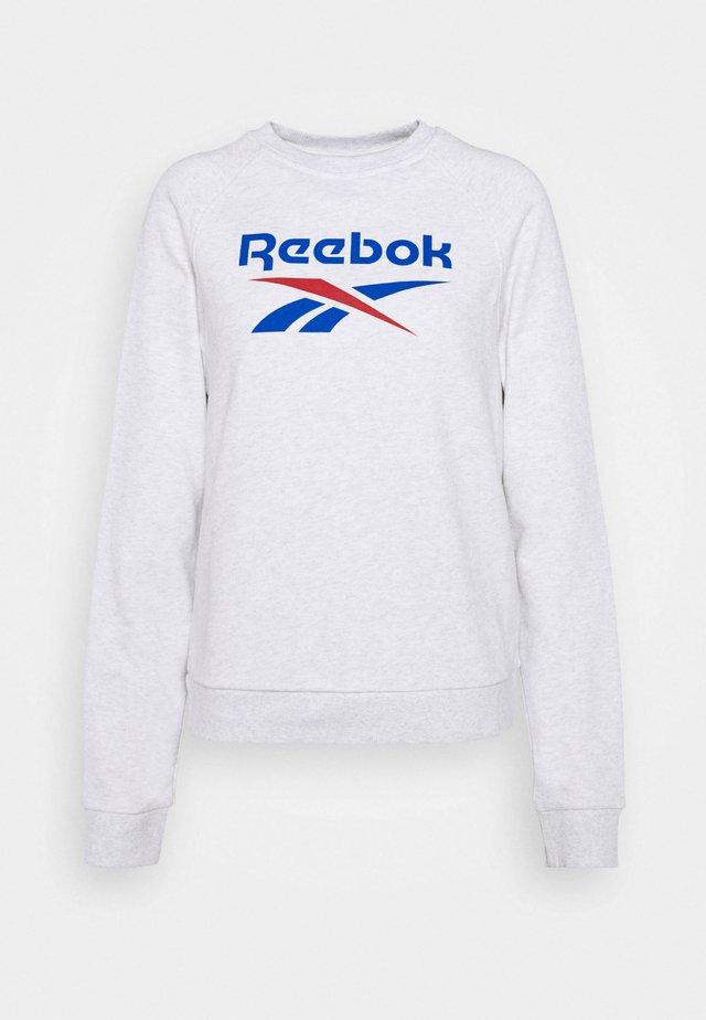VECTOR CREW - Sweatshirt - white melange