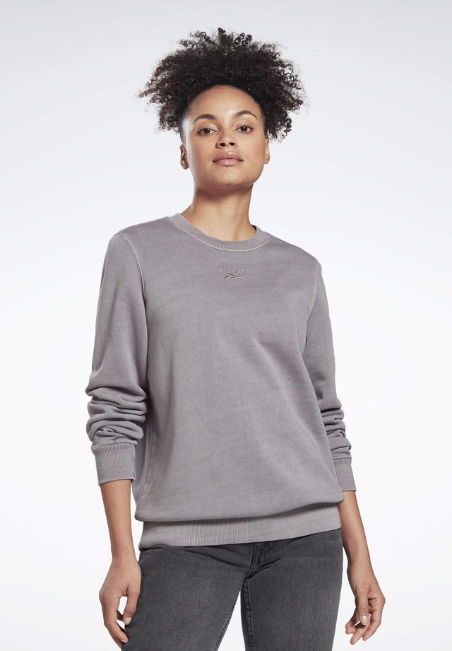 CLASSICS WASHED CREW SWEATSHIRT - Sweatshirt - grey