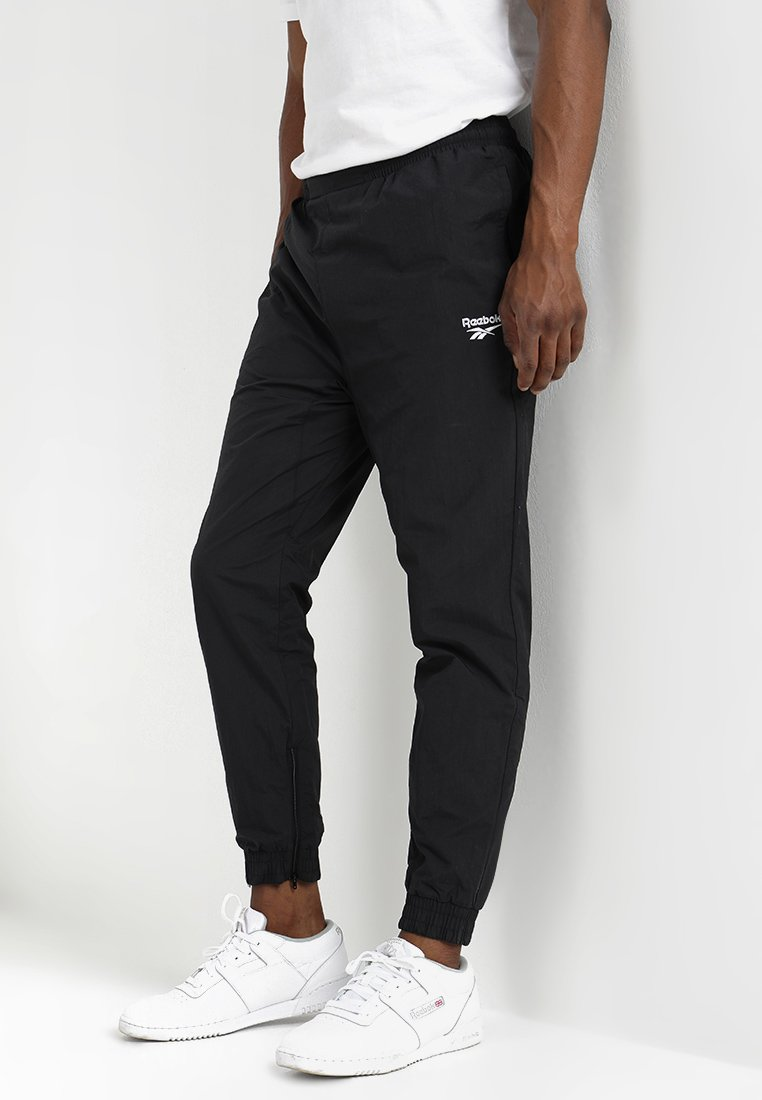 Reebok Classic - TRACKPANT - Tracksuit bottoms - black