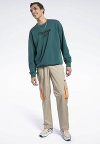 Reebok Classic - CLASSICS TRAIL PANTS - Tracksuit bottoms - beige - 1