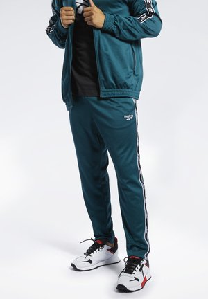 CLASSICS VECTOR TAPE TRACK PANTS - Pantalon de survêtement - green