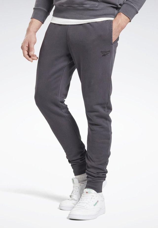 CLASSICS PREMIUM VECTOR PANTS - Tracksuit bottoms - black