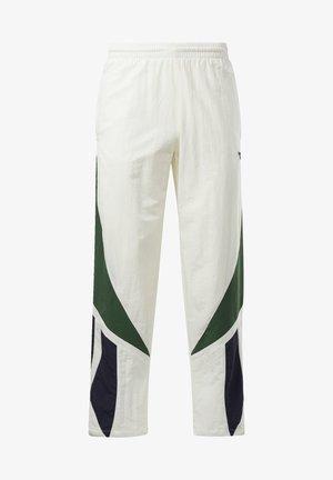 CLASSICS TWIN VECTOR TRACKSUIT BOTTOMS - Pantaloni sportivi - white