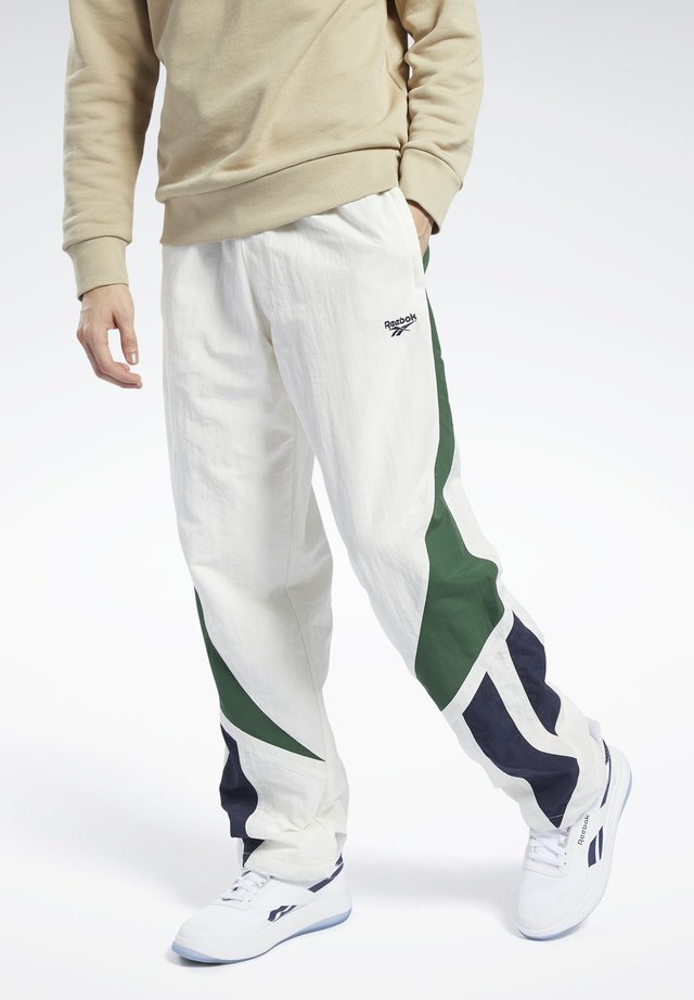 CLASSICS TWIN VECTOR TRACKSUIT BOTTOMS - Tracksuit bottoms - white