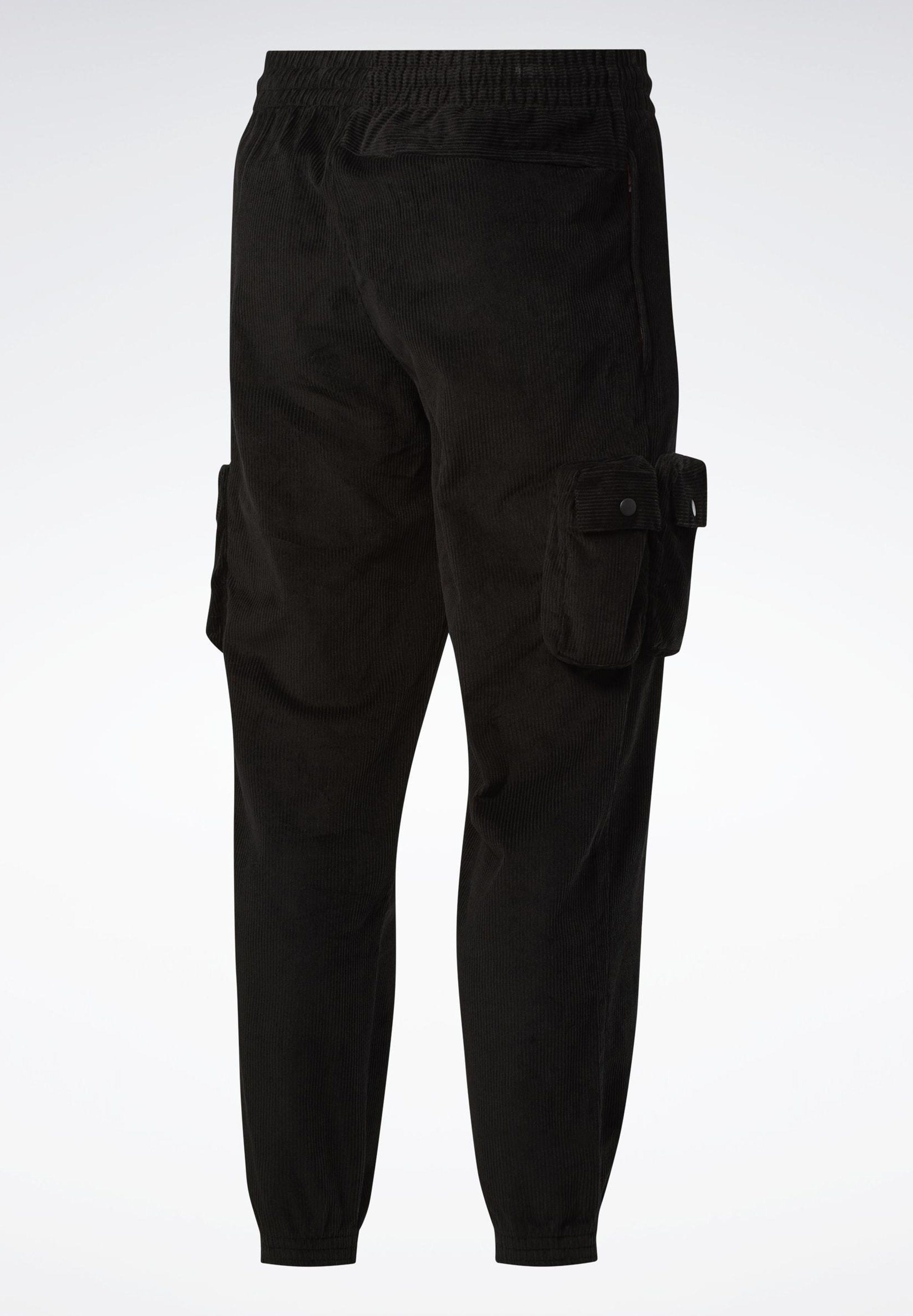 Reebok Classic Classics Corduroy Track Trousers - Træningsbukser Black