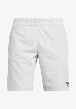 VECTOR  - Teplákové kalhoty - mottled light grey