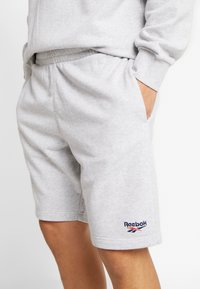 Reebok Classic - VECTOR  - Tracksuit bottoms - mottled light grey - 5