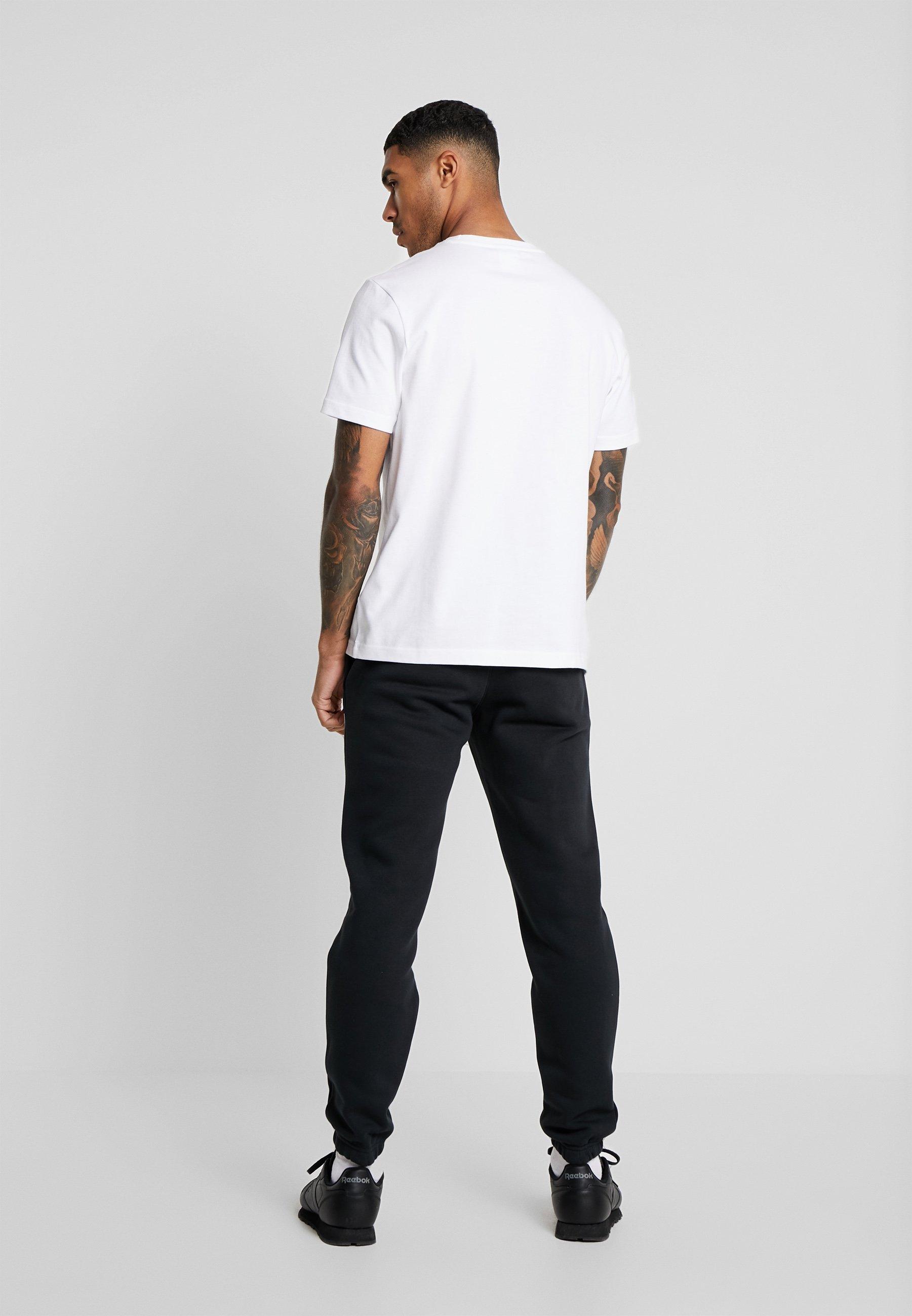 Classic black Reebok TeeT White shirt Imprimé erdCoxB