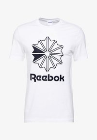 Reebok Classic - BIG LOGO TEE - Print T-shirt - white - 3