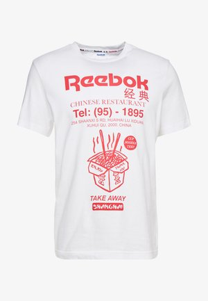 NOODLES TEE - T-shirt con stampa - white