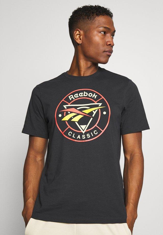 TRAIL TEE - T-shirts print - dark grey