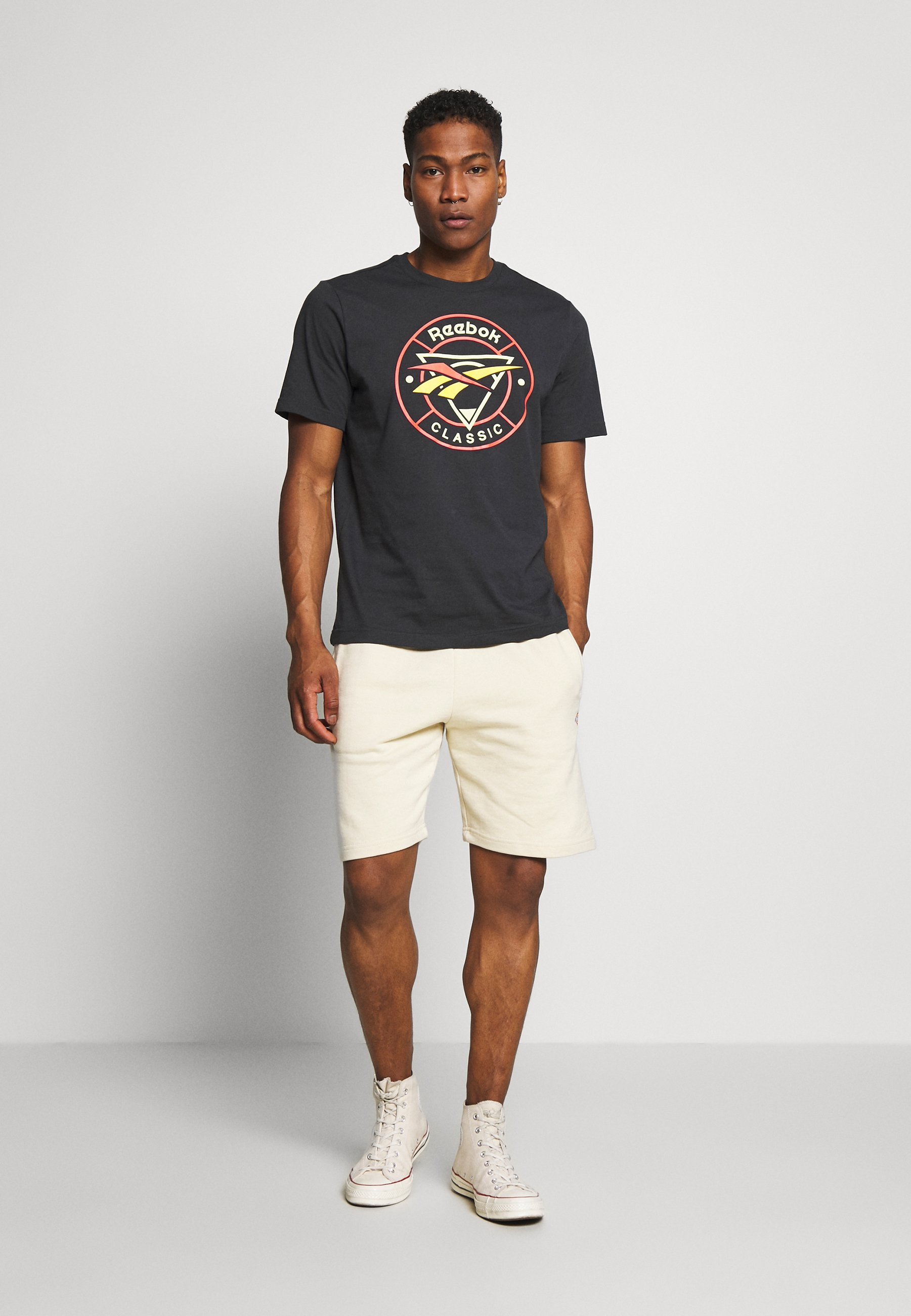 Reebok Classic TRAIL TEE - T-shirt con stampa - dark grey