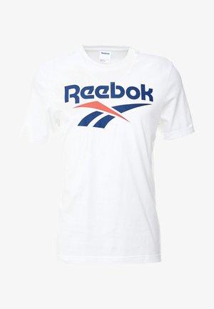 VECTOR TEE - Print T-shirt - white