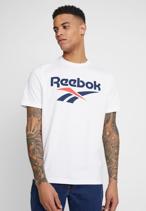 VECTOR TEE - Camiseta estampada - white