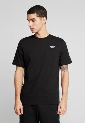 SMALL VECTOR TEE - T-shirt basic - black