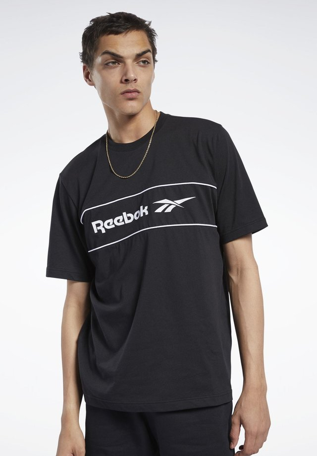 CLASSICS LINEAR TEE - T-shirts print - black