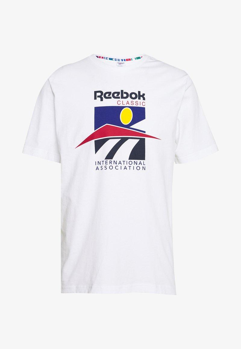Reebok Classic - SPORT TEE - T-Shirt print - white