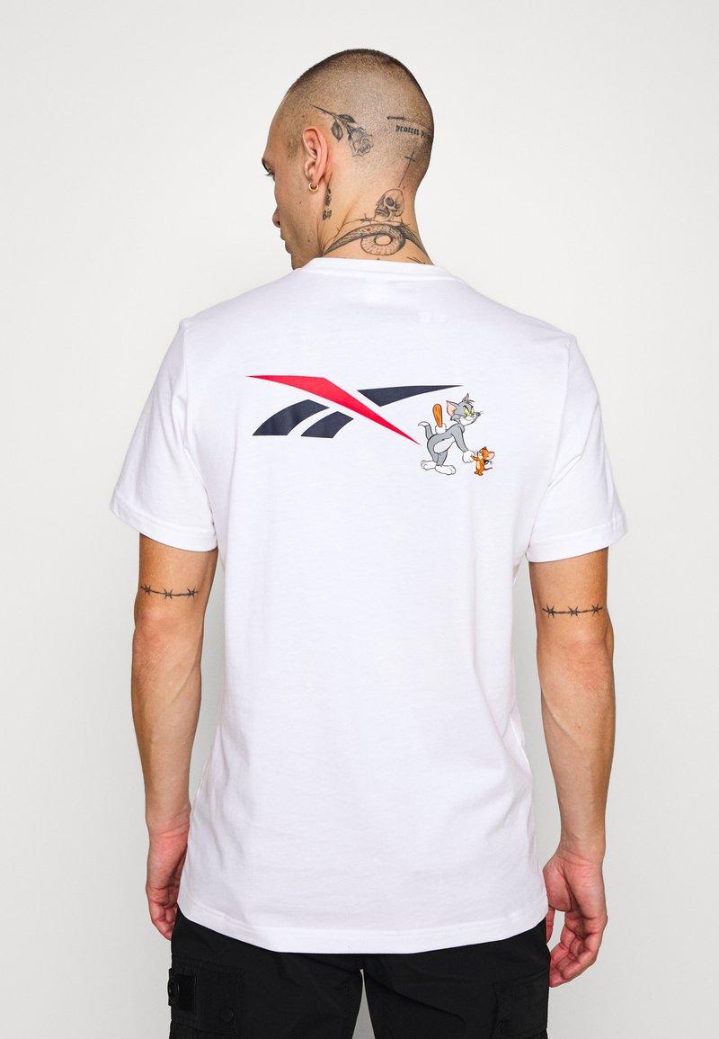 Reebok Classic - TEE - T-shirt print - white