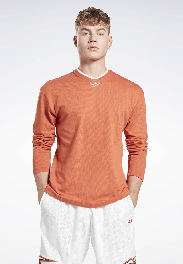 CLASSICS LONG SLEEVE JERSEY - Long sleeved top - orange