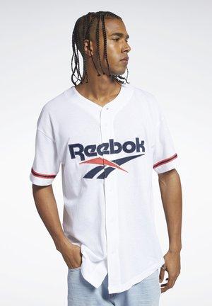 CLASSICS BASEBALL JERSEY - T-shirt print - white