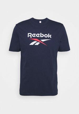 VECTOR TEE - T-shirt z nadrukiem - navy