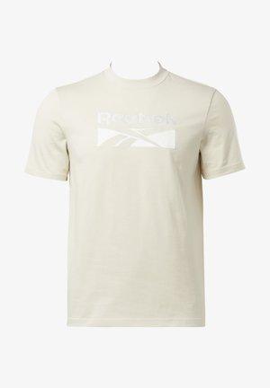 CLASSICS SPLIT VECTOR T-SHIRT - T-shirt print - beige
