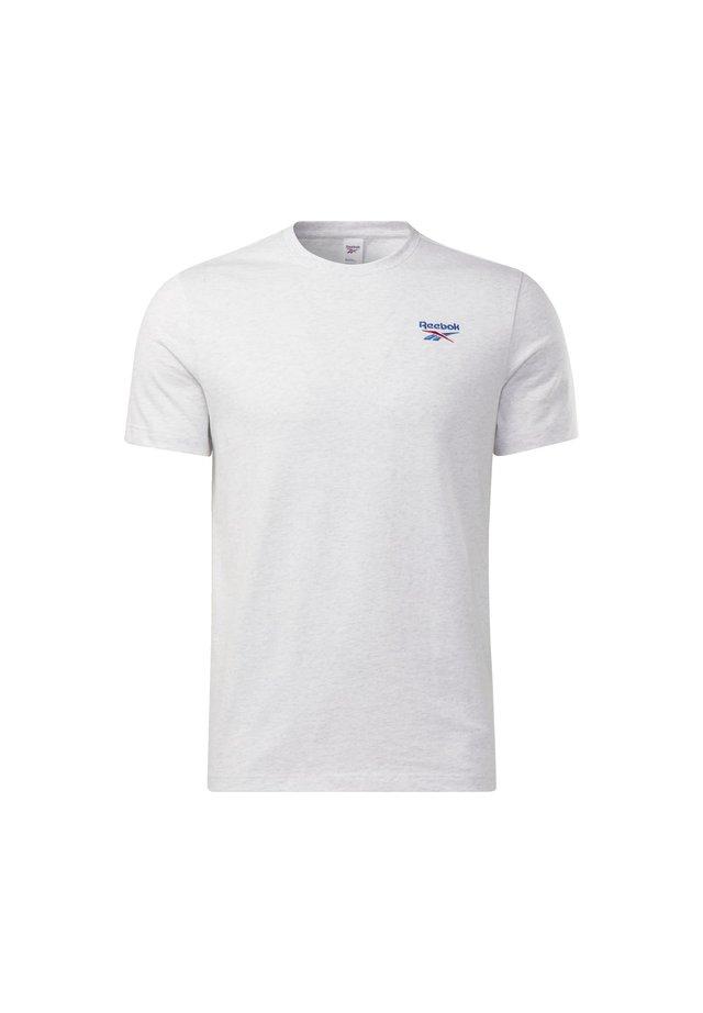 CLASSICS SMALL VECTOR T-SHIRT - Printtipaita - white