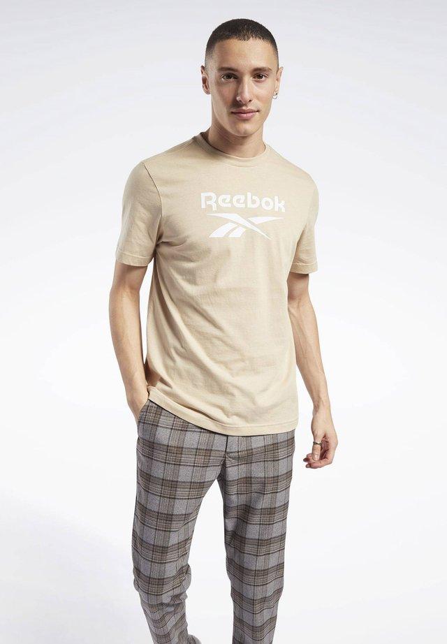 CLASSICS VECTOR T-SHIRT - T-Shirt print - beige